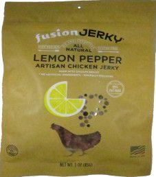 Fusion Jerky - Lemon Pepper Turkey Jerky