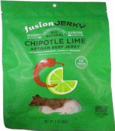 Fusion Jerky - Chipotle Lime Beef Jerky