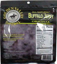 Golden Valley Natural - Original Buffalo Jerky