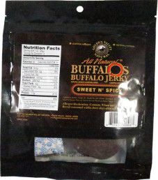 Golden Valley Natural - Sweet N' Spicy Buffalo O's Jerky