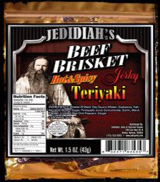Jedidiah's - Hot & Spicy Teriyaki Beef