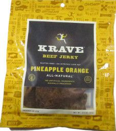 Krave Jerky - Pineapple Orange Beef  Jerky