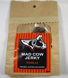 Mad Cow Jerky - Chilli Beef Jerky