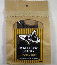 Mad Cow Jerky - Honey Soy Beef Jerky