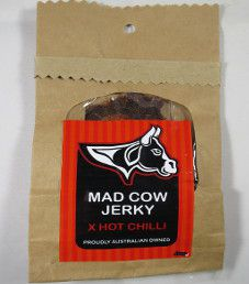 Mad Cow Jerky - X Hot Chilli Beef Jerky