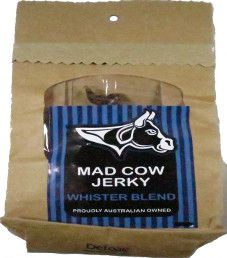 Mad Cow Jerky - Whister Blend Beef Jerky