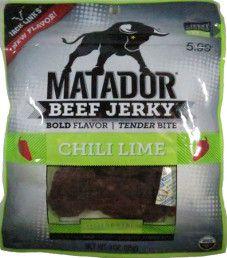 Matador - Chili Lime Beef Jerky