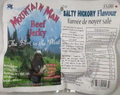 Mountain Man - Salty Hickory Beef Jerky