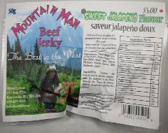 Mountain Man - Sweet Jalapeno Beef Jerky