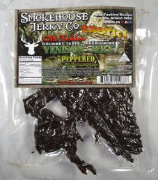 Smokehouse Jerky Co. - Peppered Venison Jerky