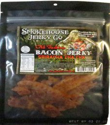 Smokehouse Jerky Co. - Sriracha Cha Cha Bacon Jerky