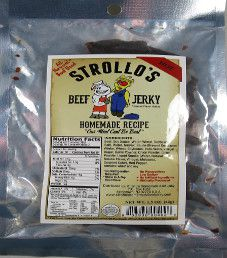 Strollo's - Hot Beef Jerky