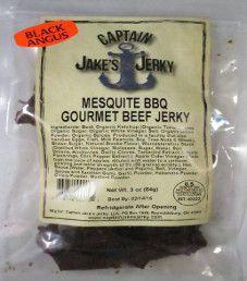 Captain Jake's Jerky - Mesquite BBQ Beef Jerky
