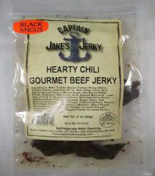 Captain Jake's Jerky - Hearty Chili Beef Jerky