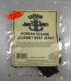 Captain Jake's Jerky - Korean Sesame Beef Jerky