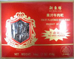 Hsin Tung Yang - Fruit Flavored Beef Jerky