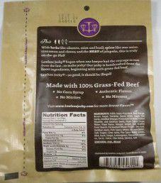 Lawless Jerky - Pho 100% Grass Fed Beef Jerky