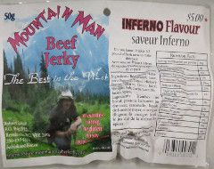 Mountain Man - Inferno Flavour Beef Jerky