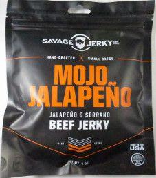 Savage Jerky Co. - Mojo Jalapeno Beef Jerky