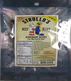 Strollo's - Garlic Beef Jerky