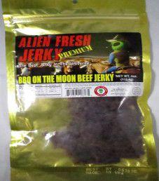 Alien Fresh Jerky - BBQ on the Moon Beef Jerky