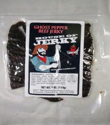 House of Jerky - Ghost Pepper Beef Jerky