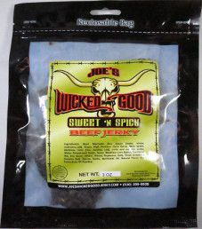 Joe's Wicked Good Jerky - Sweet 'N Spicy Beef Jerky