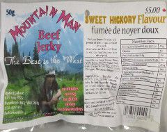 Mountain Man - Sweet Hickory Beef Jerky
