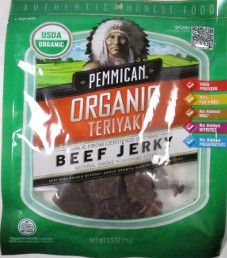 Pemmican - Teriyaki Organic Beef Jerky