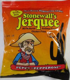 Stonewall's Jerquee - Peppy Pepperoni Vegan Jerky