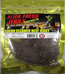 Alien Fresh Jerky - Colon Cleaner Beef Jerky