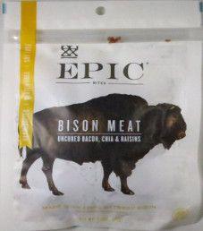 EPIC Bites - Bison Bacon Chia Bites