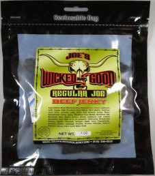 Joe's Wicked Good Jerky - Regular Joe Beef Jerky