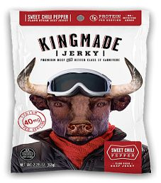 Kingmade Jerky - Sweet Chili Pepper Beef Jerky