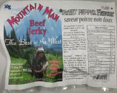 Mountain Man - Sweet Pepper Beef Jerky