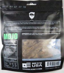 Savage Jerky Co. - Mojo Beef Jerky (Review #2)