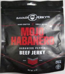 Savage Jerky Co. - Mojo Habanero Beef Jerky (Review #2)