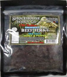 Smokehouse Jerky Co. - Sea Salt Honey & Pepper Beef Jerky