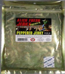 Alien Fresh Jerky - Peppered Beef Jerky