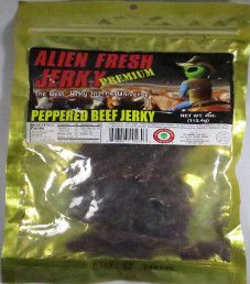 Alien Fresh Jerky - Peppered Beef Jerky