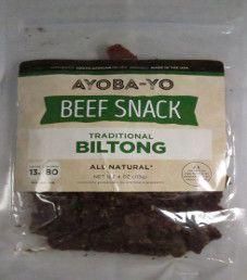 Ayoba-Yo - Traditional Beef Biltong
