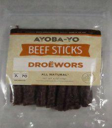Ayoba-Yo - Traditional Beef Droëwors