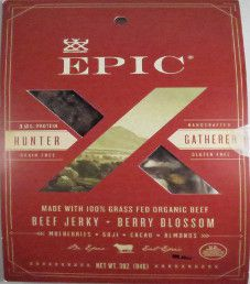 EPIC - Berry Blossom Organic Beef Jerky Trail Mix