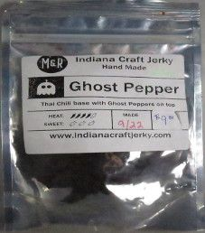 Indiana Craft Jerky - Ghost Pepper Beef Jerky