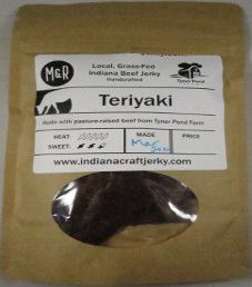 Tyner Pond Farm - Teriyaki 100% Grass-fed Beef Jerky