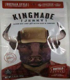 Kingmade Jerky - Buffalo Style Beef Jerky