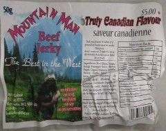 Mountain Man - Truly Canadian Flavour Beef Jerky
