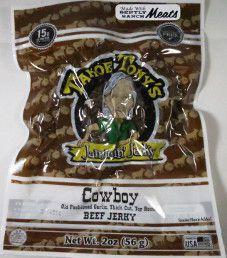 Tahoe Tony's Jammin' Jerky - Spicy Sweet 100% Grass-fed Beef Jerky