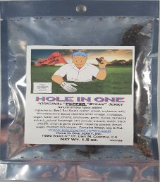 Hole In One Jerky - Original Pepper Steak Jerky