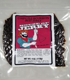 House of Jerky - Chipotle Bourbon Beef Jerky